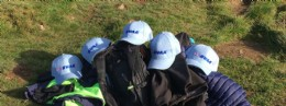 Boots? Check. Coats? Check. Backpacks? Check. BVAA Hats? Blue!