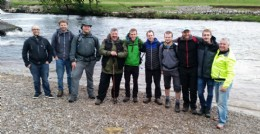 FLP Cohort 2 part-way through their reunion �yomp� across the Yorkshire moors
