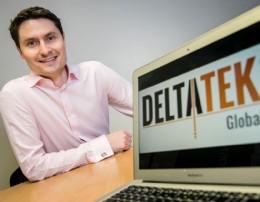 Deltatek CEO, Tristam Horn