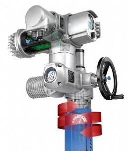 AUMA SARV Variable speed modular actuator and controls