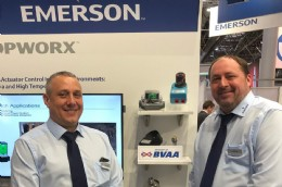 Mike Howells and Steve Barford from Emerson