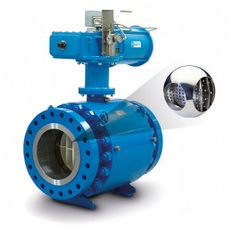 Control Valve with Compressible Fluid (Gas & Steam) Trim