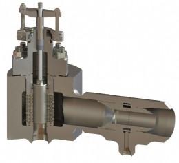 100D bypass valve with venturi desuperheater