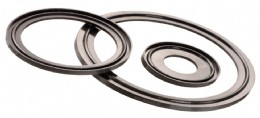 Freudenberg clamp seals provide secure, hygienic tube connections.