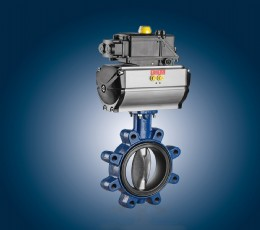 The ISORIA butterfly valves are now available with an oil-resistant liner for food applications