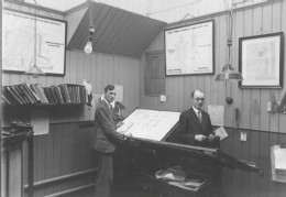 Drawing office May 1935, Shaw, Son & Greenhalgh