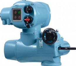 Rotork's CK Atronik control module provides intermediate level integral controls for the standard CK electric actuator