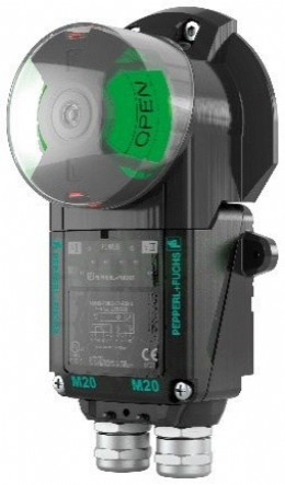 F31K2 dual sensor with highly visible valve position indicator