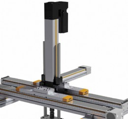 HLR070 is a belt-driven / linear guideway equipped rodless linear actuator