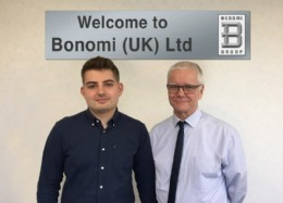 James Derrick (left) & Bob Buckley (right) join Bonomi (UK) Ltd