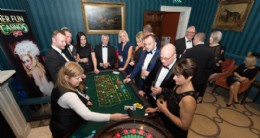 Casino and dancing at the 80th Annual General Meeting