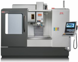 XYZ 1100 HD CNC Milling machine with 4th axis