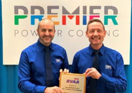 Left to right: Rob Smith, Group Managing Director (MD), Mick Durkin, Group General Manager (GM) of Premier Powder Coating