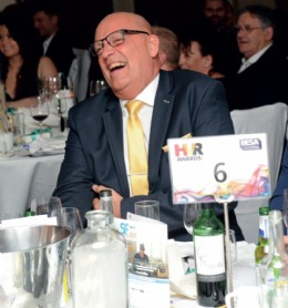 Les Littlewood at the HVR awards