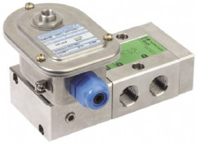 ATEX approval to category 2GD zone 1/21 makes the new ASCO NUMATICS Series 553 Spool Valve suitable for use in explosive atmospheres in oil and gas applications