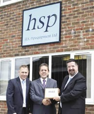 HS Pipequipment Ltd: Steve Draper, Managing Director and Peter Everett, Chief Executive