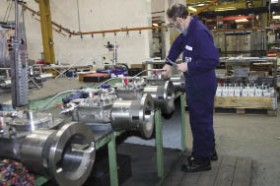 Photo: Mastergear subsea gearboxes